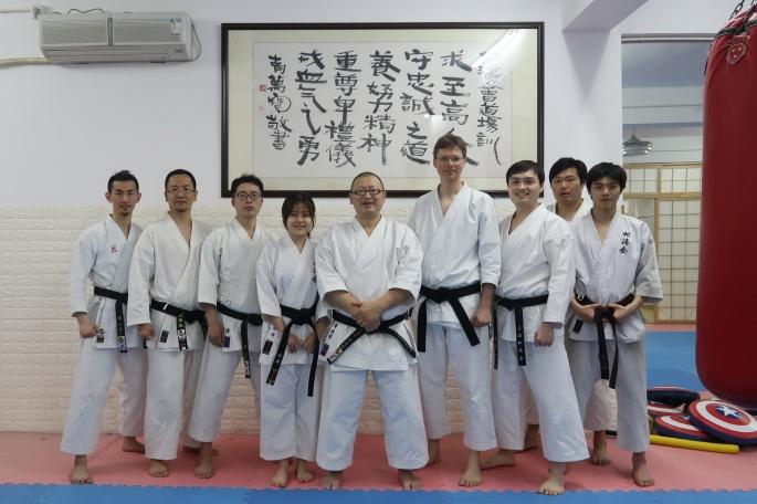 Karate in Shanghai